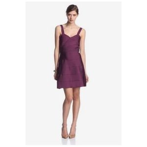 Erin Fetherston Fit and Flare Bandage Dress